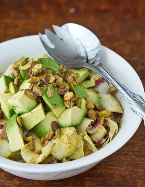 ... Endive Pistachios, Avocado Salad, Fennel Salad, Avocado Endive