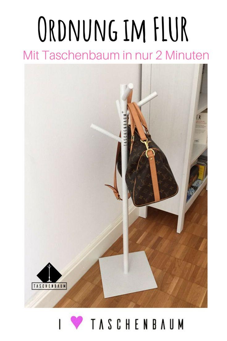 Weißt du was ein Taschenbaum® ist? Die neue Garderobe für deine Taschen Zuhau… – Taschenbaum® das Original