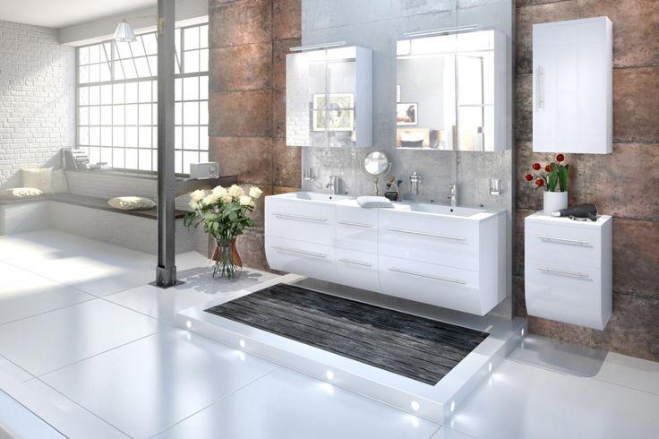 """Badezimmermöbel Set Weiß Hochglanz ~ Über 1000 Ideen zu """"Hochglanz auf Pinterest  Lowboard"""