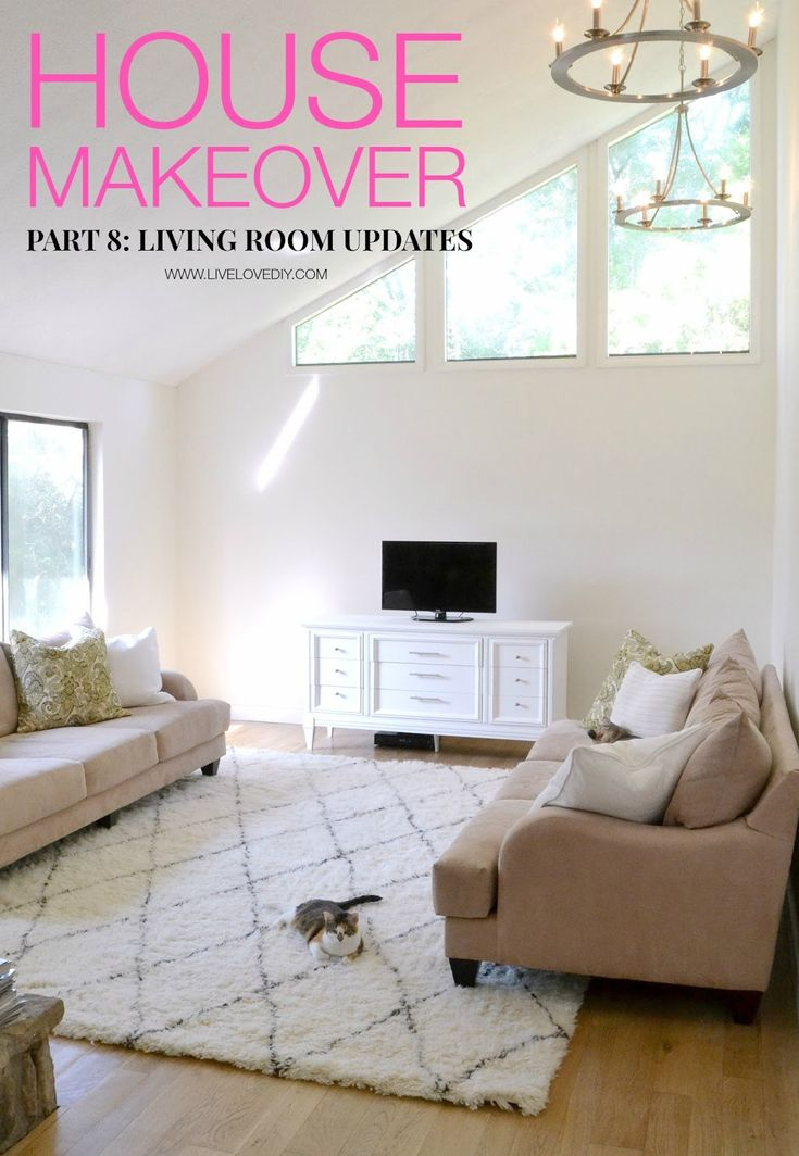 Diy Living Room Makeover Extraordinary Design Review