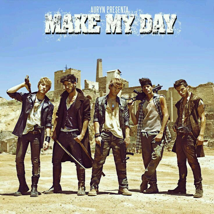 Auryn: Make my day (CD Single) - 2013.