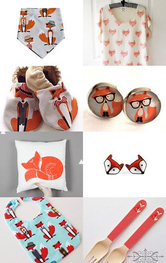 Mr FOX by Handmade Kids on Etsy--Pinned with TreasuryPin.com