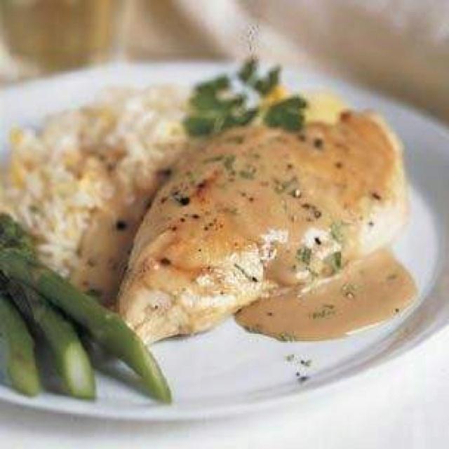 Chicken in Tarragon Sauce | Chicken & Turkey Recipes | Pinterest