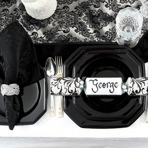 Luxe Christmas Theme Personalised Bon Bons