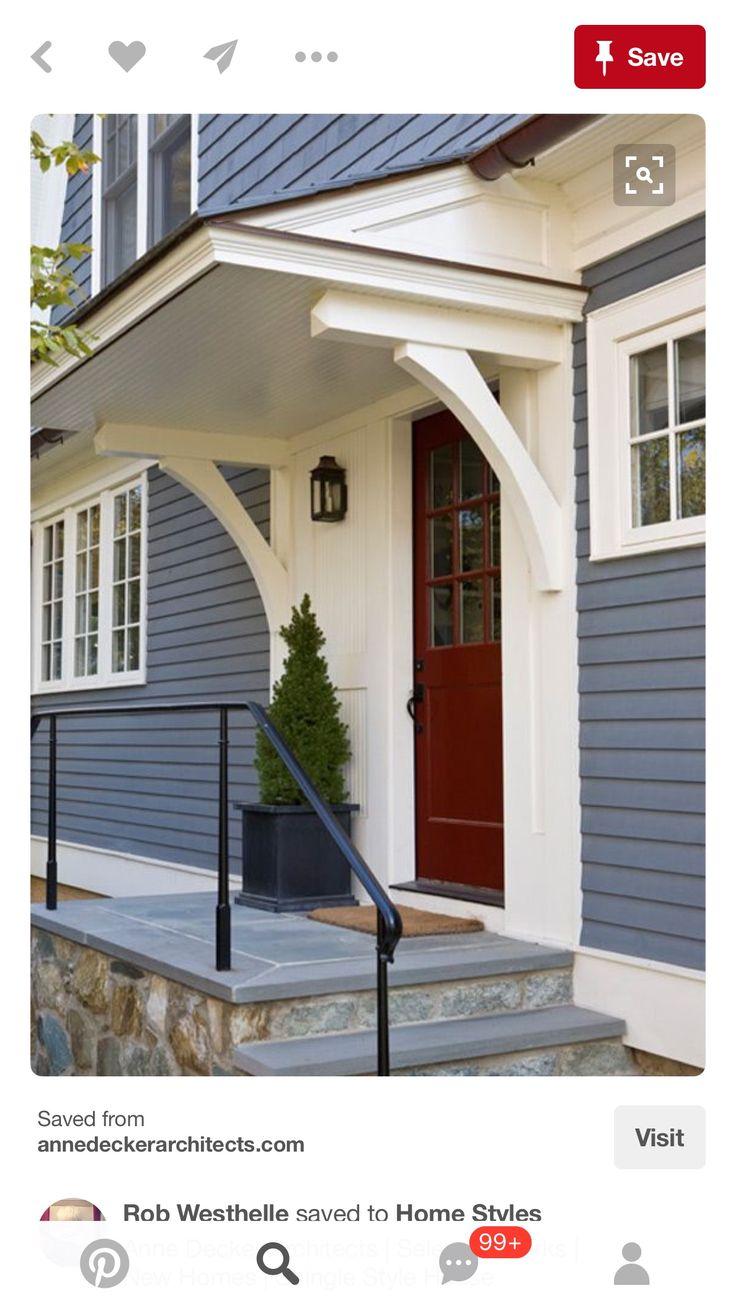 116 best Door Awning Ideas images on Pinterest | Barn ...