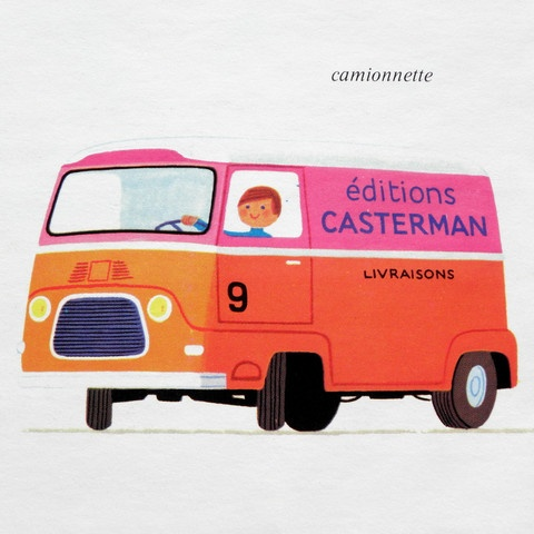 can't get enough orange and pink these days: illustration by alain gree