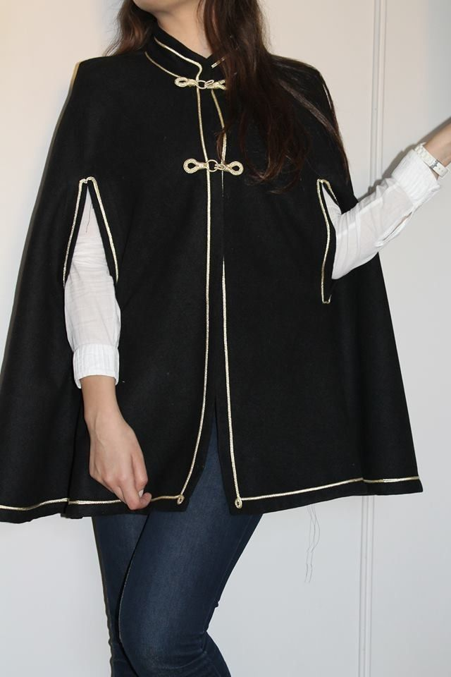 Cape en fils d'or by Beld'in Fashion