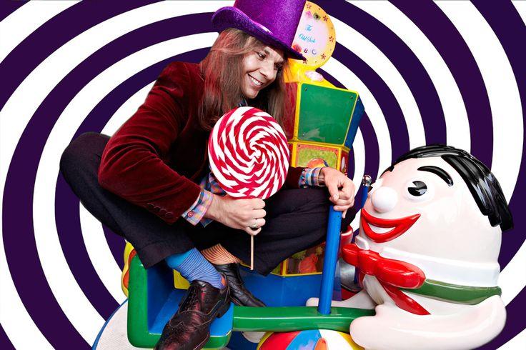 Humpty Dumpty sat on a wall; Humpty Dumpty wanted a lick of the Odd Sock's lollipop. The end.