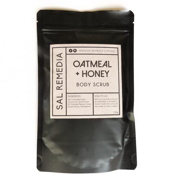 Oatmeal & Honey Body Scrub