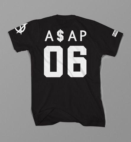 Asap Worldwide A$AP Long Live Asap Anarchy Asap Mob T Shirt