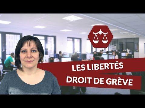 Les libertés individuelles et collectives : Le droit de grève - STMG Droit digiSchool - YouTube