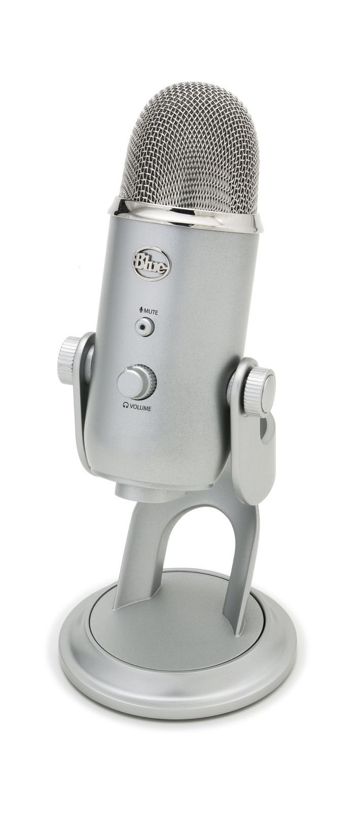 Blue Yeti USB Microphone  Silver 2DAY SHIP