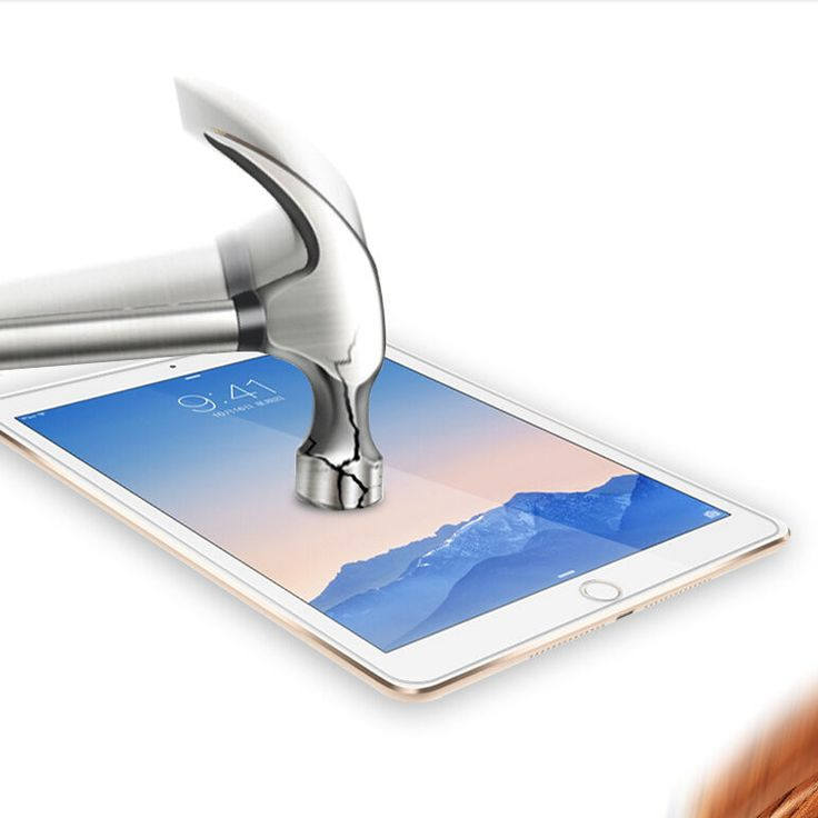 Ultra-thin Premium Tempered Reinforced Glass Screen Protector Film Case For i Pad Mini4