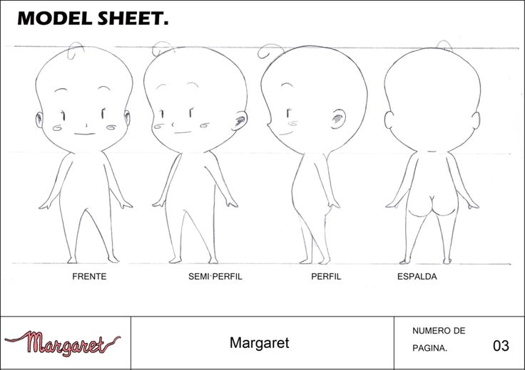 Anime Character Design Template : Deviantart more like chibi anime character model sheet by