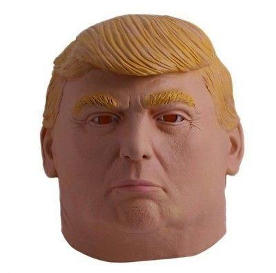 Donald Trump Costume Mask Presidential Halloween Costume Full Face Mask
