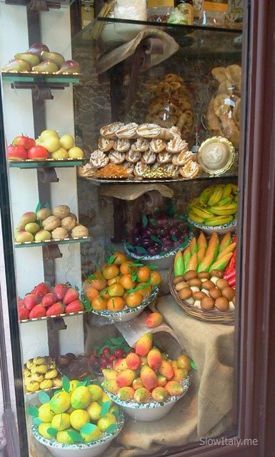 Pasticceria, Taormina, Sicily . I've stopped in several times for a delicious pastry. #taormina #sicilia #sicily