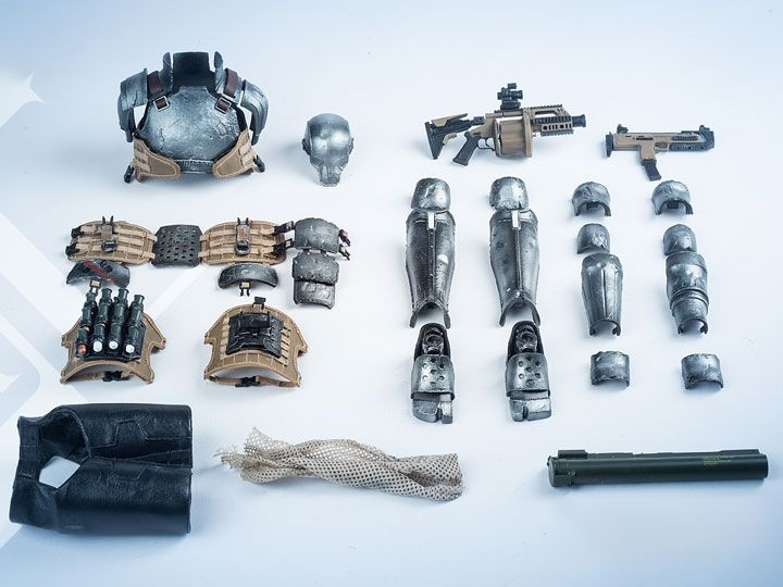 #transformer pinyike realistic robot series light armor accessories pack