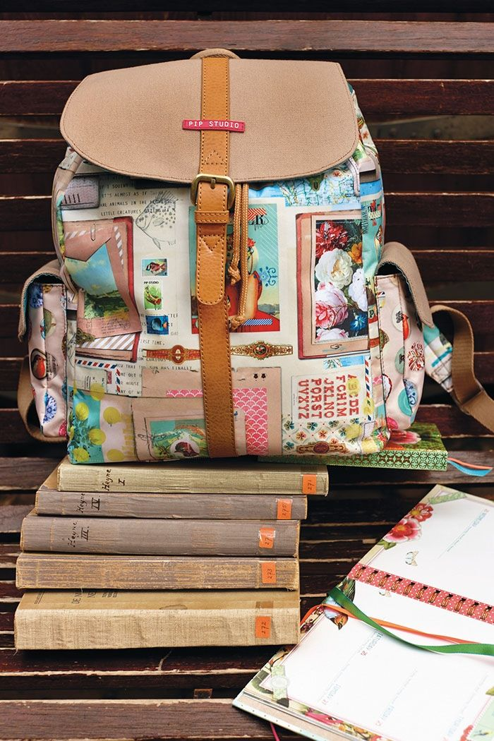 PiP Sketch Book Backpack