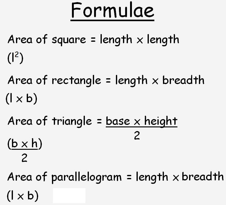how to find the area and perimeter of a parallelogram