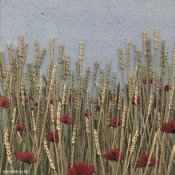 jobutcher: Golden Wheat and Poppies
