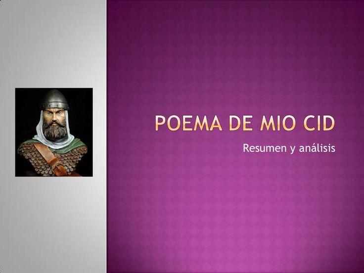 Poema De Mio Cid by Maestra de español via slideshare