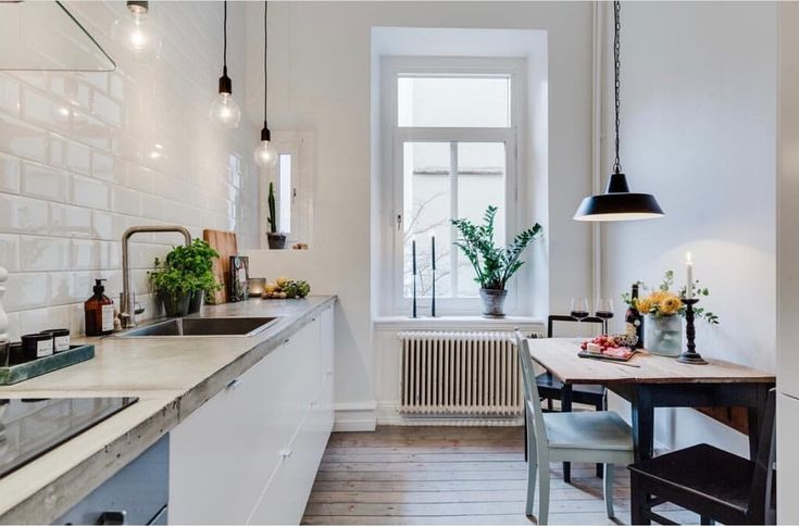 Minimalistic kitchen design nordic