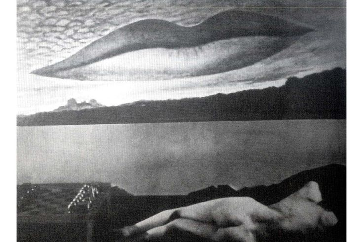 Man Ray - Observatory Time, The Lovers, 1936