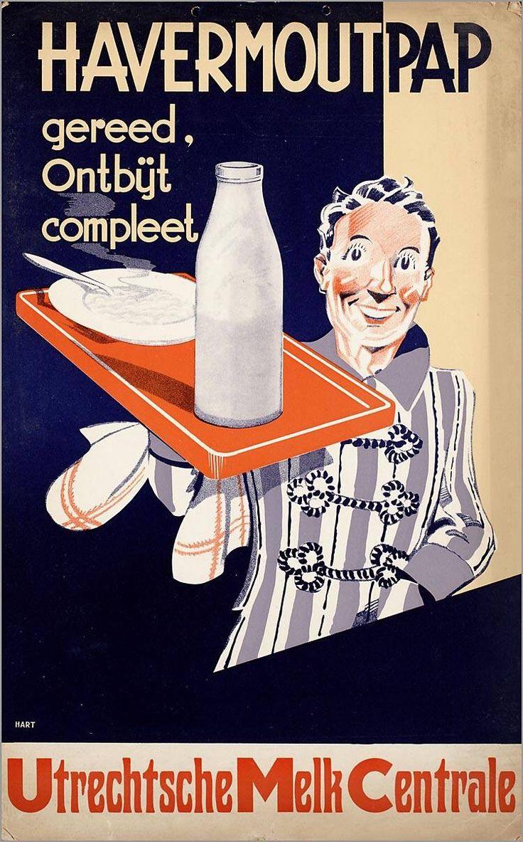 Dutch ad, vintage