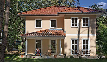 Таунхаусы |  Villa Verona (штукатурка фасада), внутренний дворик и дома Impression