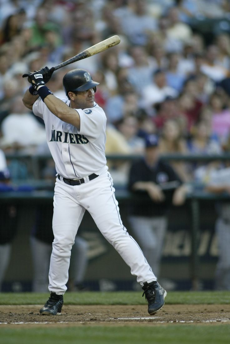 """Gar"" - Edgar Martinez, #Mariners Designated Hitter, 1987-2004"