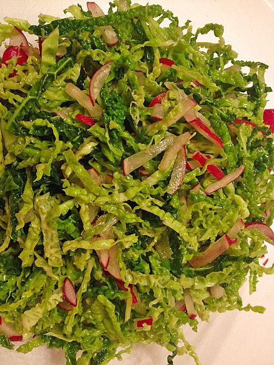 Wirsing-Radieschen-Salat, ein leckeres Rezept aus der Kategorie Gemüse. Bewertungen: 5. Durchschnitt: Ø 3,9.