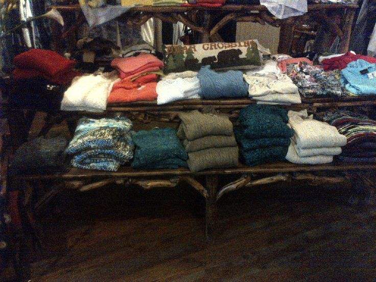 Cotton Country Sweaters at S.M. Bradford in Whitefish, Montana