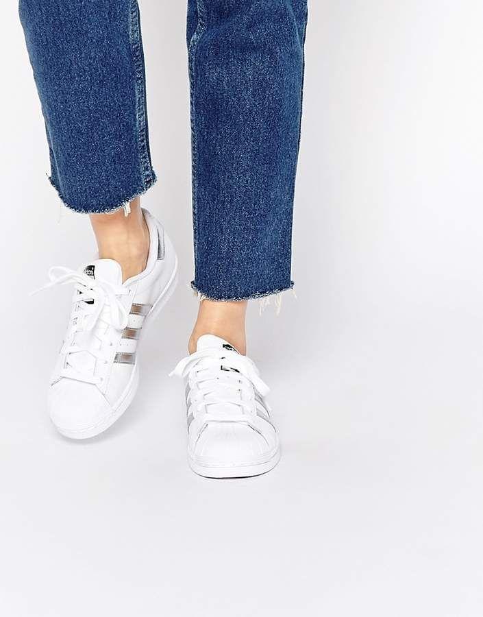 Women adidas Originals Superstar white & silver