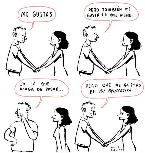Ilustraciones De Rocio Diestra Para Saber Lo Que Piensa Una Mujer 15 En 2020 Frases De Sabiduria Frases Irónicas Ilustraciones