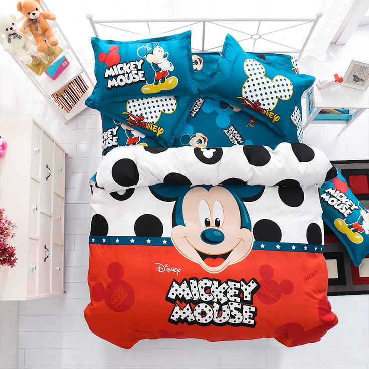 Mickey Mouse Bedding set New Arrival  https://www.aliexpress.com/store/product/ParkShin-Mickey-Mouse-Bedding-Set-Cartoon-Kids-Favorite-Home-Textiles-Blue-and-Orange-Bed-Linen-Twin/2836062_32803563194.html?spm=2114.12010608.0.0.rJ67ct