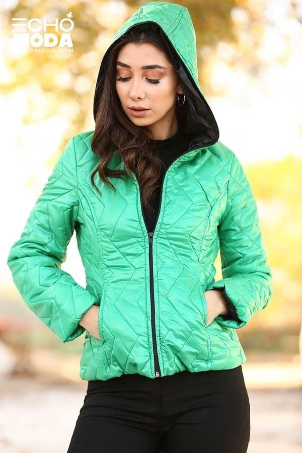 للبيع 16 جاكيت نسائي شتوي تركي أنيق موديل 2021 Bomber Jacket Winter Athletic Jacket Winter Women