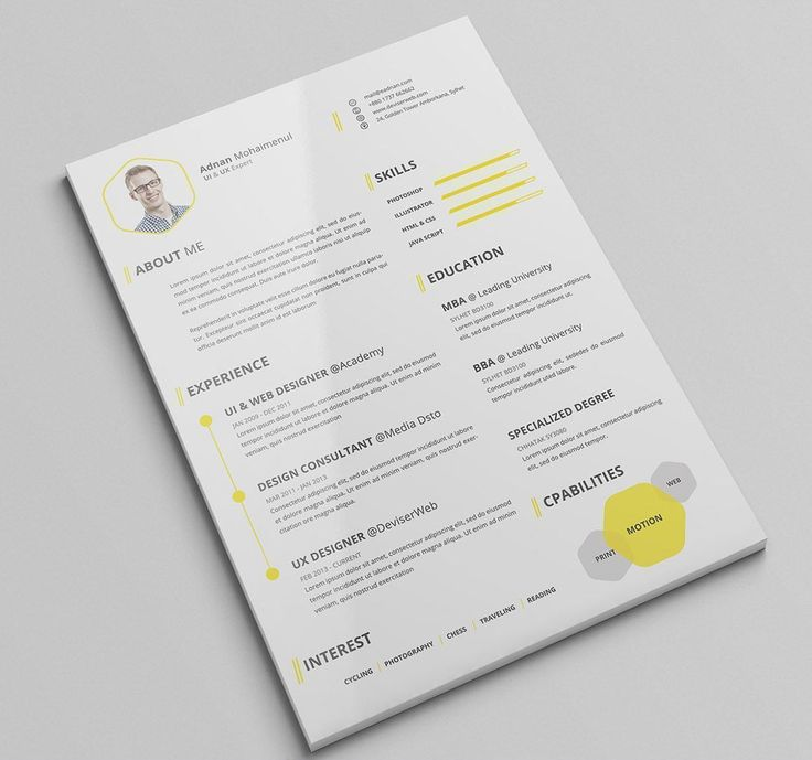 You Donu0027t Have To Be A Professional Graphic Designer To Have A Beautiful And  Resume Check