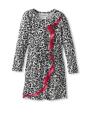 66% OFF Rare Editions Girl's 2-6X Cheetah Print Dress (Grey/Black)