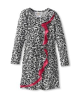 66% OFF Rare Editions Girl's 2-6X Cheetah Print Dress (Grey/Black)