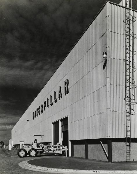 Caterpillar of Australia Pty Ltd Tullamarine-Melbourne, Australia 1955. Photograph by Wolfgang Sievers.