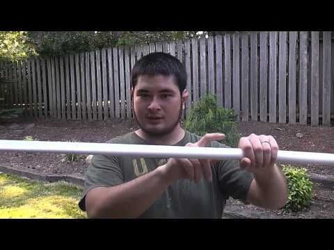 The Hobbit Inspired Tauriel's Bow Elven PVC Horsebow, 40-45 Pounds How-To, Part 1. I want to do this so bad. O.O