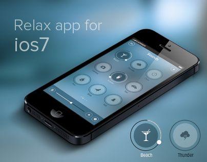 iOS 7 Relax App