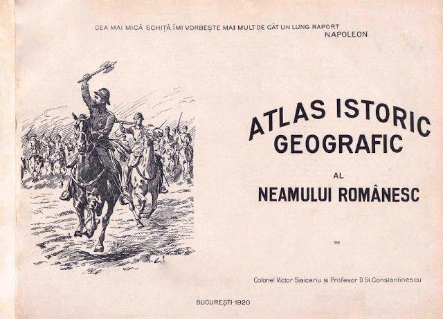 ARTA PE INTELESUL TUTUROR: ATLAS ISTORIC GEOGRAFIC AL NEAMULUI ROMANESC