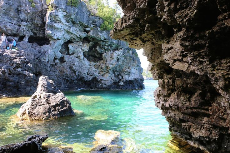 4. Cliff Jump at the Grotto | Tobermory, Canada, Lake Huron
