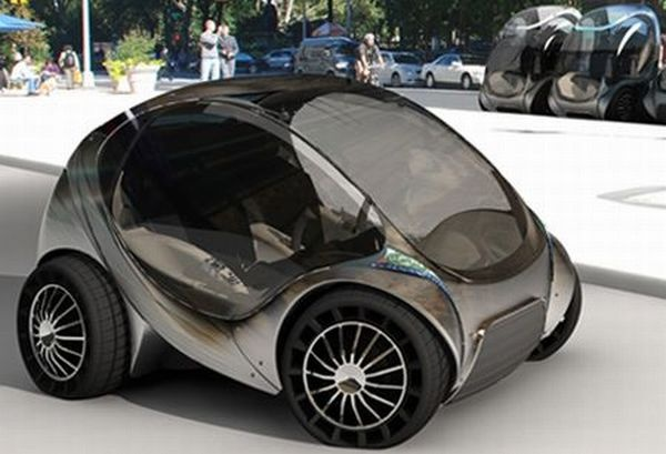 Folding City Car : Get more Hiriko - http://www.youtube.com/watch?v=UjRQfAI9r_Q