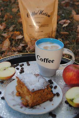 Wielopokoleniowo czyli testuję z mamą i córką: Piernik kawowy z jabłkami