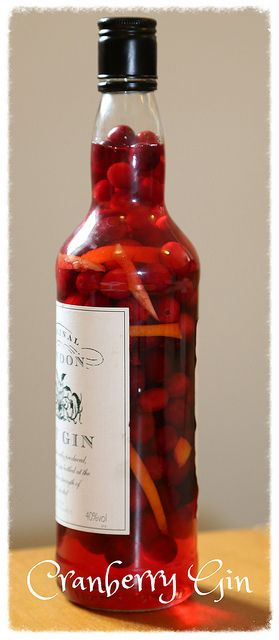 Cranberry Gin by Rachel Cotterill, via Flickr