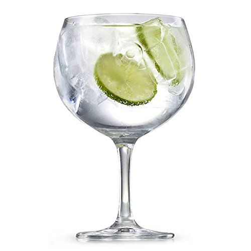 Bar Specials Spanish Gin & Tonic Glasses 23.5oz / 696ml - Set of 2 - Gin Balloon Glasses: Amazon.co.uk: Kitchen & Home