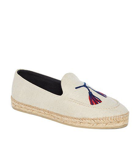 STUBBS AND WOOTTON FOR BLACK FLEECE ESPADRILLE Natural