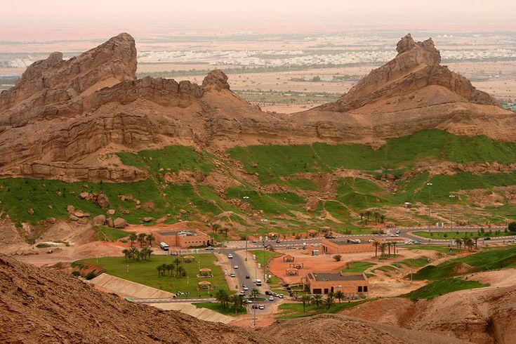 A nice view of Al Ain City, Abu Dhabi